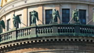 Sculptures on the upper balcony video