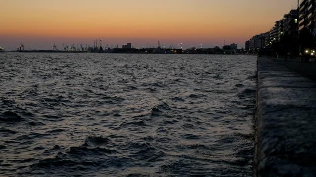 Sea and Esplanade of Resort City video