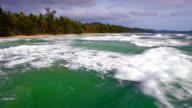 Sea and remote island video