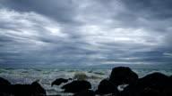 Sea and rocks video