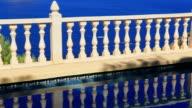 Sea and swimming pool video