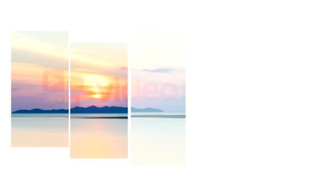 sea calm, Sunset video