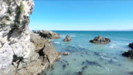 Sea Cave, or Littoral Cave, Gaans Baai, Western Cape, South Africa video