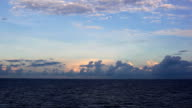 Sea clouds video