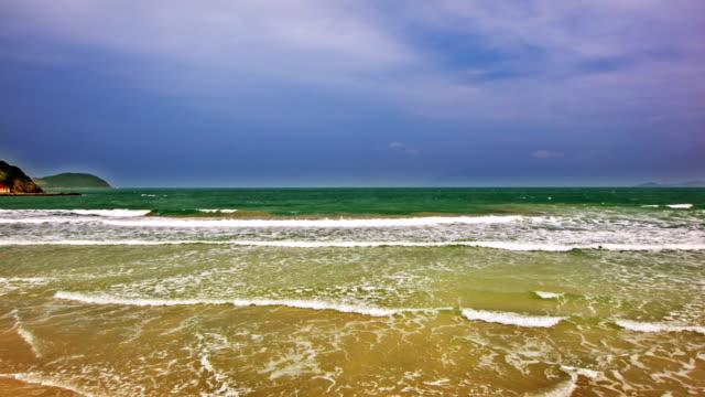 Sea in dramatic video