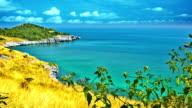 Sea landscape video