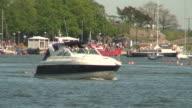 Sea motorboat 13 video