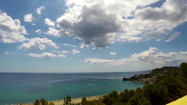 Sea, Nature Scene, Caminia, Calabria, Time Lapse, 4k video
