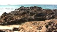 Sea of Rocks. HD. video