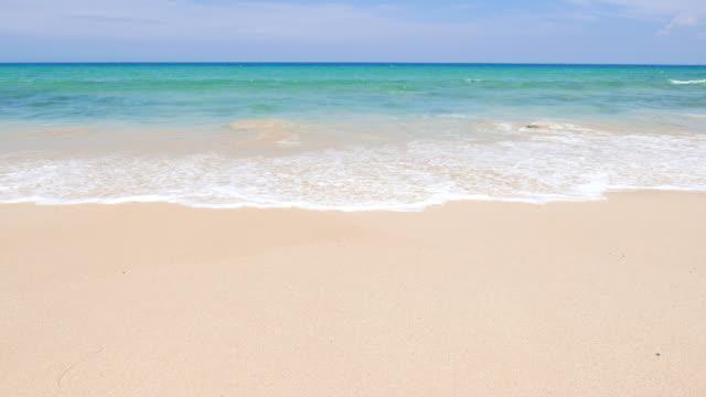 HD Sea on the beach video