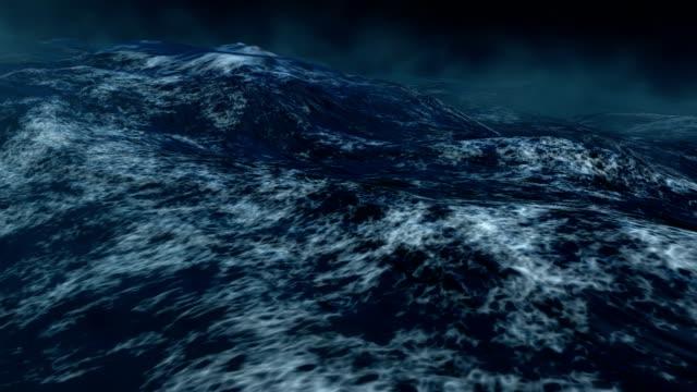 Sea storm video