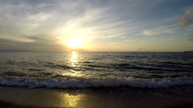 Sea Sunset, Real Time video