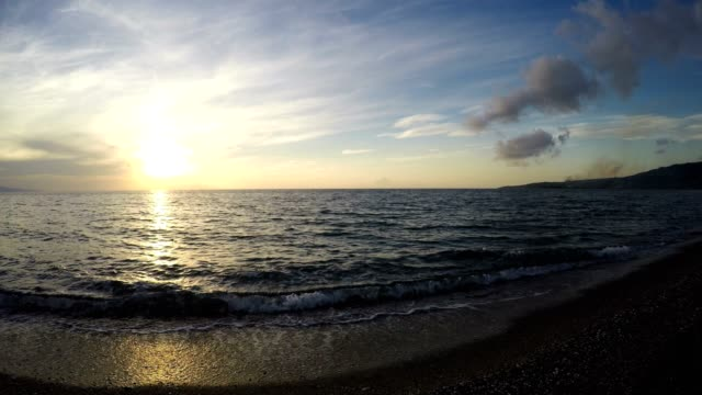 Sea Sunset, Time Lapse video