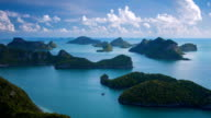 Sea Thailand, Mu Ko Ang Thong Island National Park video