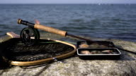 Sea trout angler equipment video