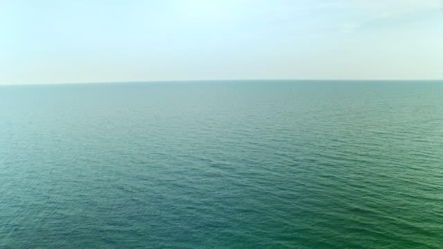 Sea view Aerial video