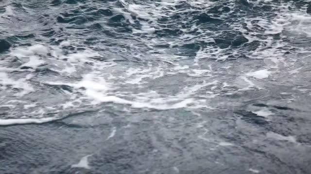 Sea waves video