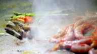 Seafood Cooking at Restaurant video