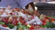 Seafood salad. Sea food - healthy choice! video