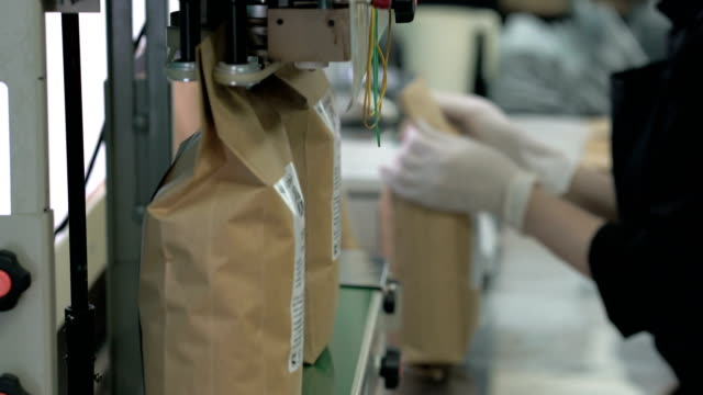 sealing packages with coffee video