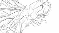 Seamless Loop - Abstract Futuristic - Digital Art Concept video