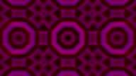 Seamless loop animation kaleidoscope video