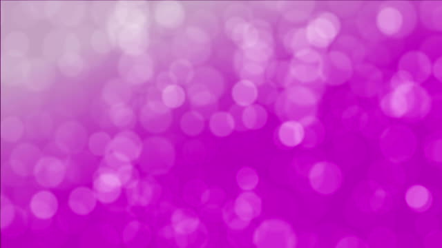 Seamless looping background of bokeh imagery video