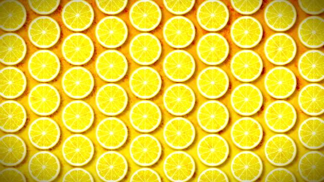seamless pattern lemon video