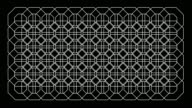 Seamless Pattern Octagon Kaleidoscope pattern Loop Graphics Background Pattern video