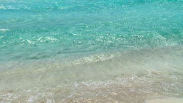 HD - Seamlessly Loopable Waves On The Beach video