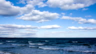 seascape day panorama video