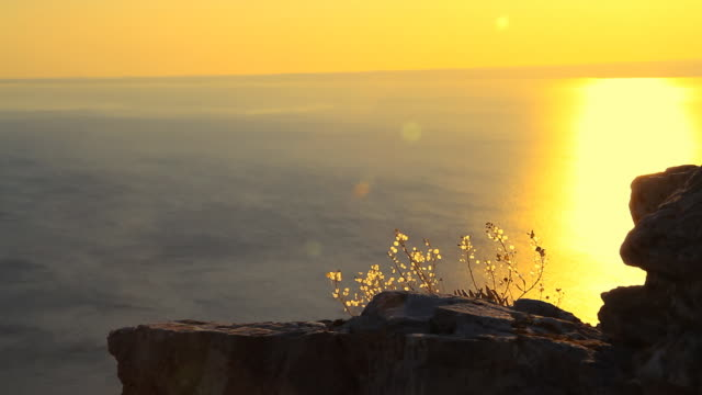 HD: Seascape From A Cliff video