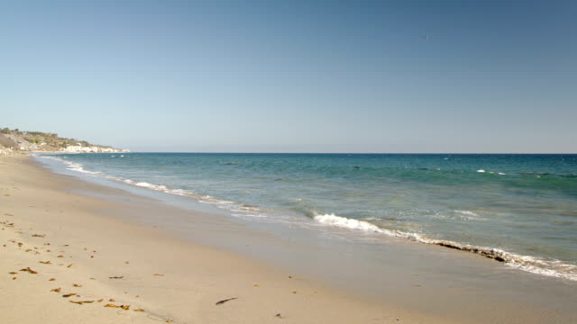 seascape of California coastline video