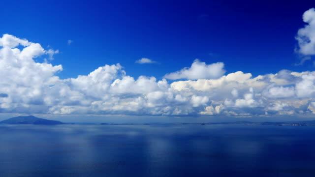 Seascape, time-lapse. video