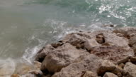 Seashore, waves, sun, beauty...Close up. video