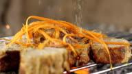 SLO MO Seasoning The Grilling Steak video
