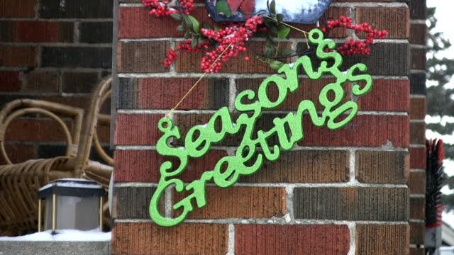 Seasons Greetings. video