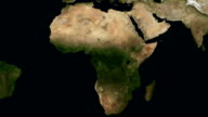 Seasons of Africa. Full HD and loopable video
