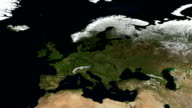 Seasons of Europe. Full HD and loopable video