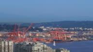 Seattle City Traffic Time Lapse Shipyard video