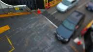 Seattle Ferry Boarding Cars Tilt Shift video