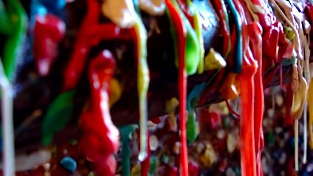 Seattle Gum Wall Macro video