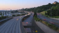 Seattle I-5 Traffic Time Lapse video