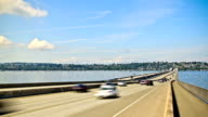 Seattle I-90 Traffic Time Lapse video