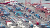 Seattle Shipyard Timelapse 5 Pan video