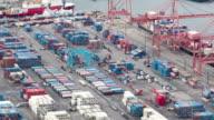 Seattle Shipyard Timelapse Pan video