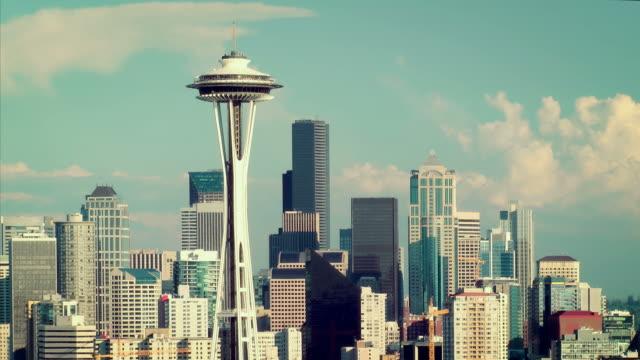 Seattle Skyline Time Lapse video