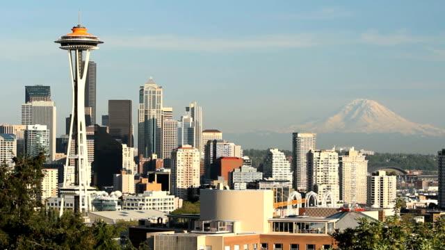 Seattle Space Needle, Mount Rainier video