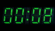 30 seconds digital counter video