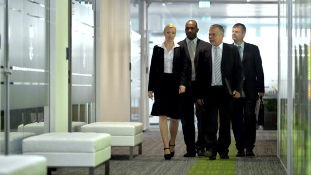 LS Secretary Introducing Group Of Businessmen video